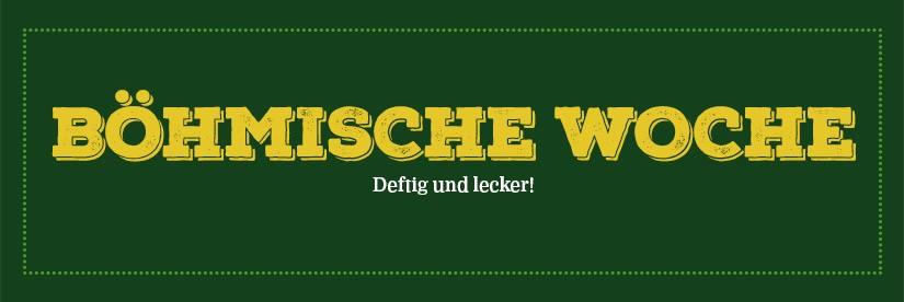 Böhmische Woche 9 bis 13. Oktober