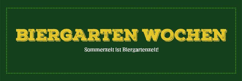 Biergarten Wochen