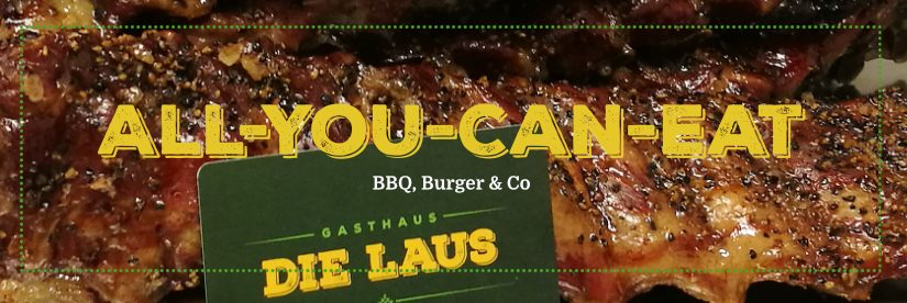 BBQ-All-You-Can-Eat-Buffet am Samstag den 2. September