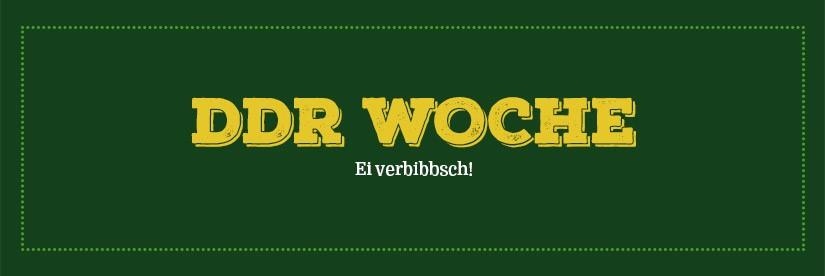 Verlängert! DDR-Woche bis 1. Februar!